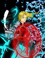 The Fullmetal Alchemist by Chordata1manga