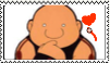 Cute Gluttony- FMA stamp by moonpiefsn