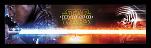 Clash of the Force - Star Wars VII Banner