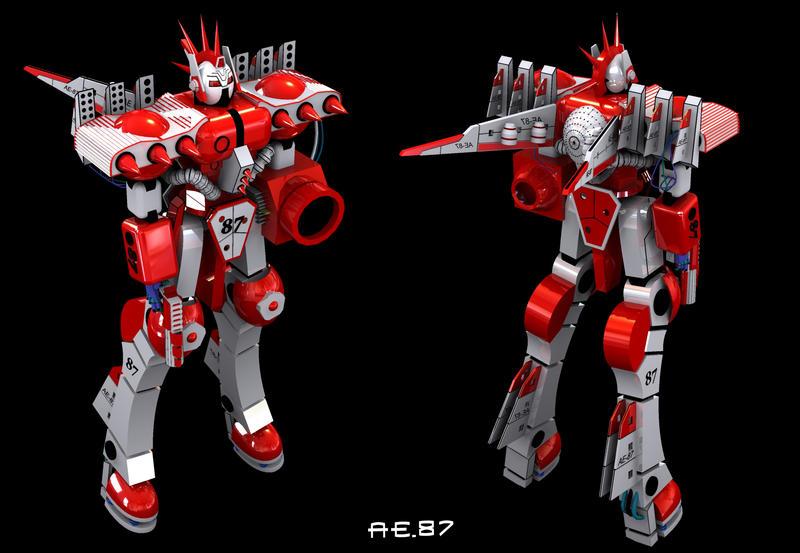 AE-87 modified by ELHABIBI