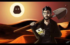 Le Fossoyeur de Film - Zardoz in the Dune by AngelMJ