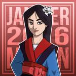 Girl of The Month : Mulan