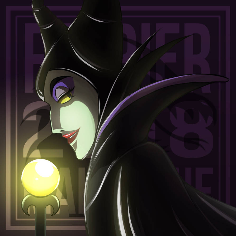 Girl of the Month : Maleficent (Sleeping Beauty) by AngelMJ