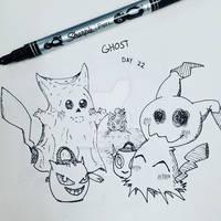 'Ghost' - Inktober 2019 Day 22