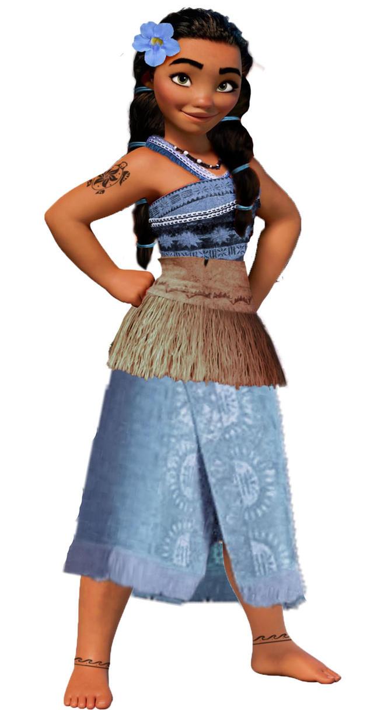 Nalani of Honumotu (Disney Moana OC) by veggie-chick221