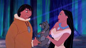 Sharing Kindness (Pocahontas X Kenai)