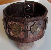 Harry Dresden Shield Bracelet by Peaceofshine
