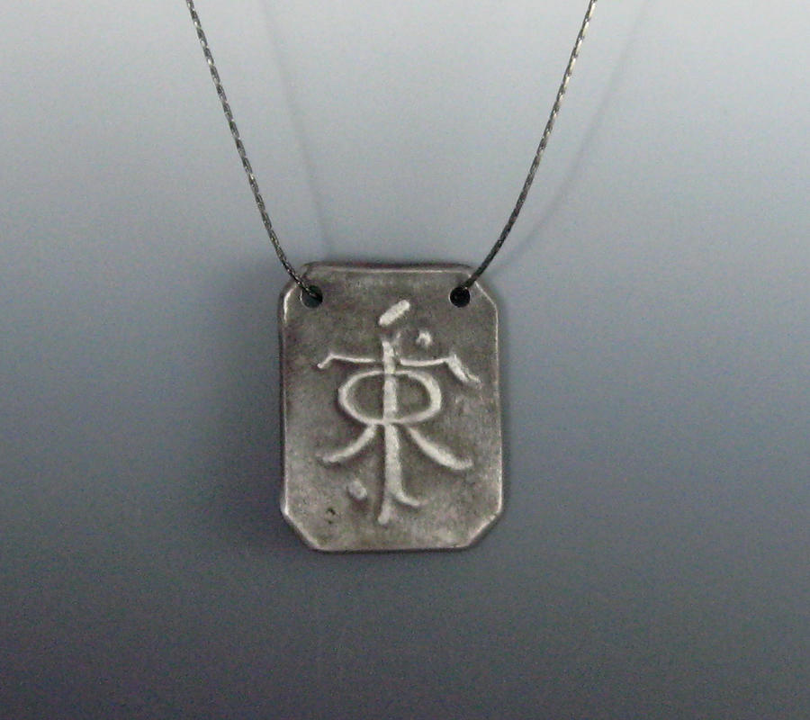 Tolkien pendant by Peaceofshine