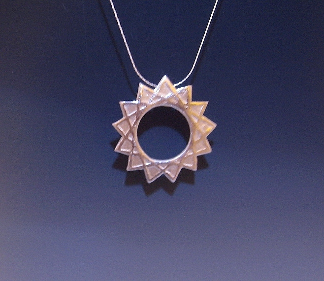 Midnighters 13 pointed star necklace by Peaceofshine