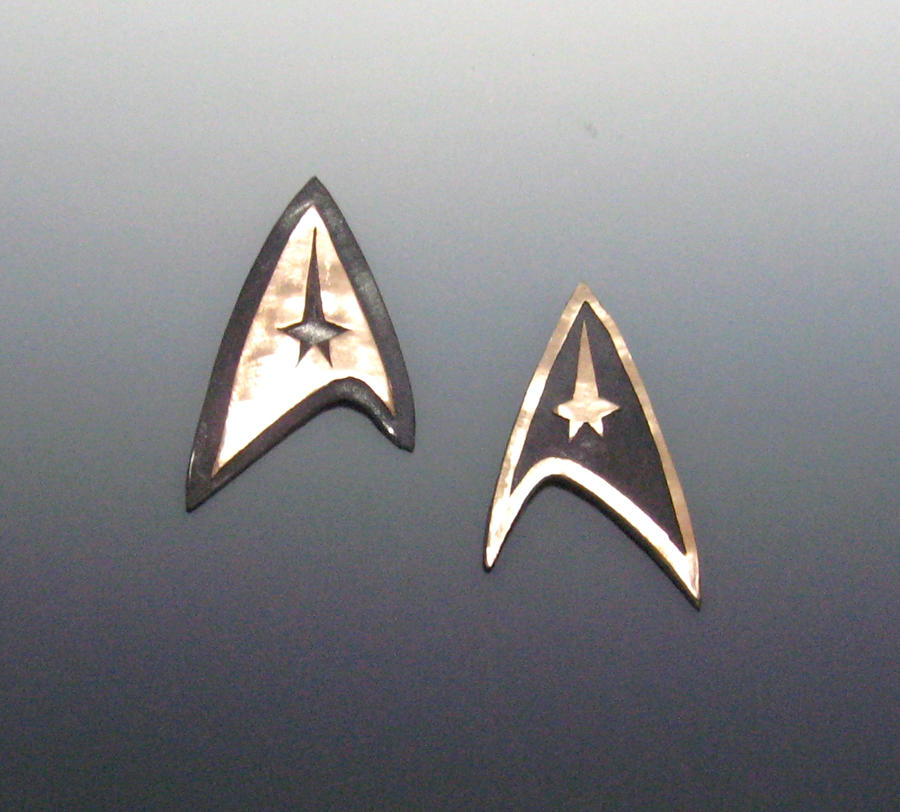 Star Trek Pendants by Peaceofshine