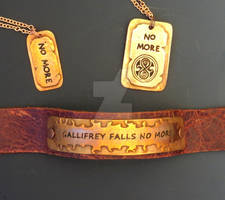 No More - Dr Who Jewelry