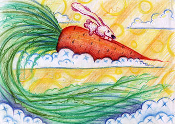 Flying Carrot by SaintHeiser