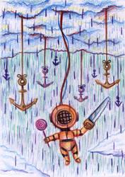 Deep rain by SaintHeiser