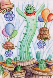 Dancing cactus by SaintHeiser