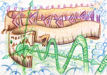 Math Dragon measures sky by SaintHeiser