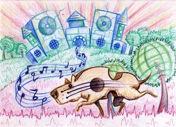 Music Hound by SaintHeiser