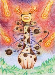 Orbital Giraffe by SaintHeiser