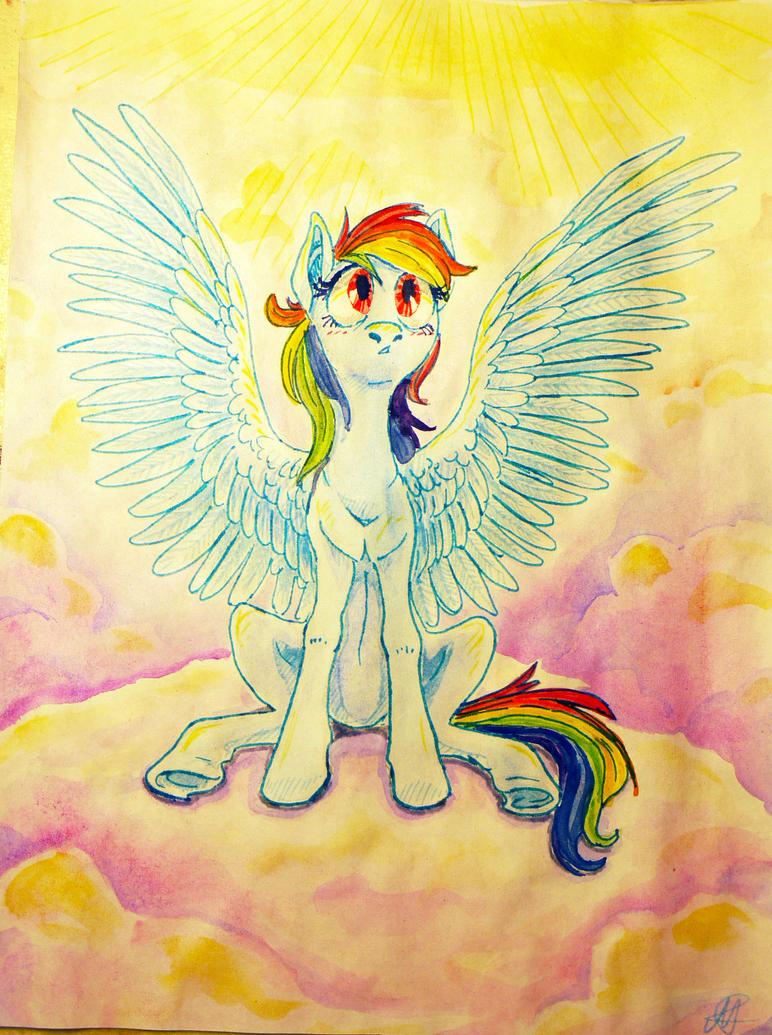 Rainbow Dash by MariaRuta