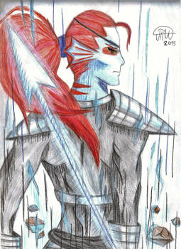 Spear of justice - Undyne