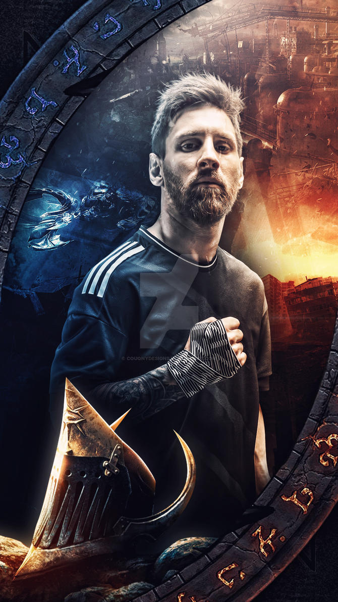 Leo Messi Wallpaper By CouqnyDesigns