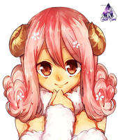 Aries Fairy Tail Render by celestialwizzard