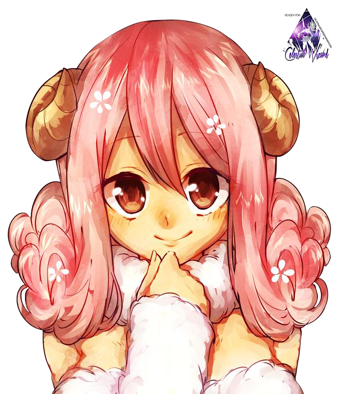 Aries fairy tail render by celestialwizzard on deviantart - Dessin anime de fairy tail ...