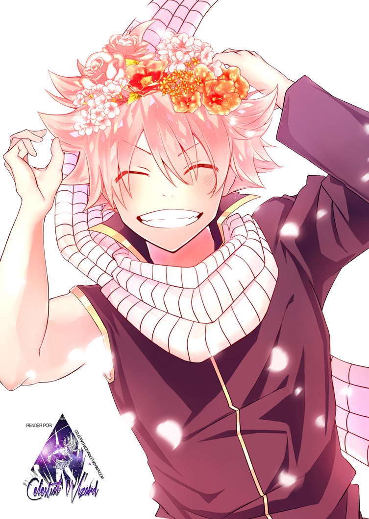 Natsu Dragneel|Fairy Tail Render #5 by celestialwizzard