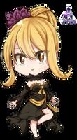 Lucy Heartfilia Chibi Fairy Tail Render #2 by celestialwizzard