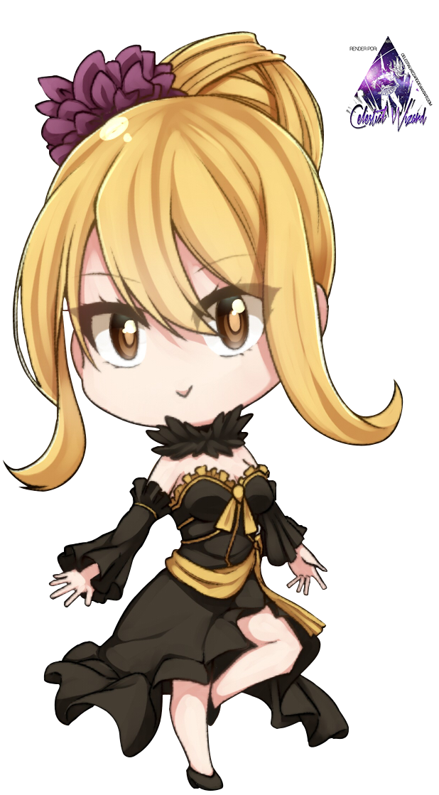 Lucy Heartfilia Chibi|Fairy Tail Render #2 by ...