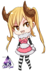 Lucy Heartfilia Chibi|Fairy Tail Render #3