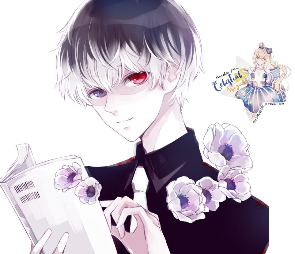 Sasaki Haise|Tokyo Ghoul: re Render by celestialwizzard