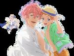 Kisumi Shigino Free! Eternal Summer Render #5 by celestialwizzard