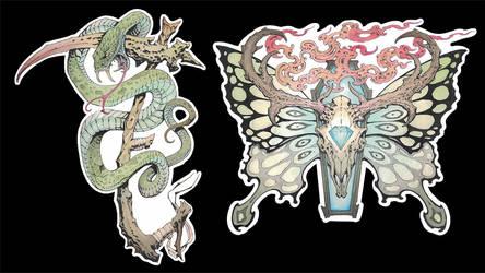 Kickstarter Stickers!!
