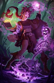 Kali, The Necromancer