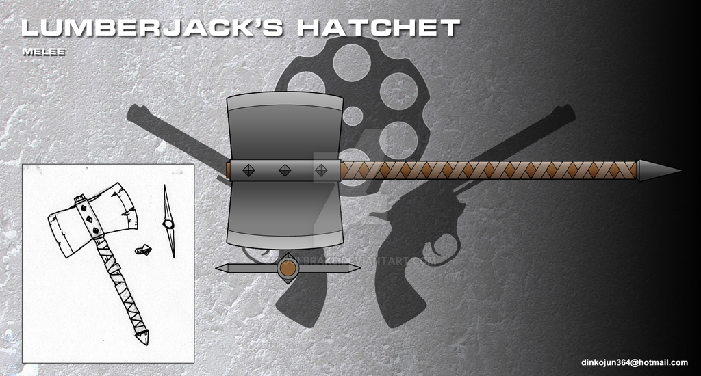 Lumberjack's hatchet by SoulBrake