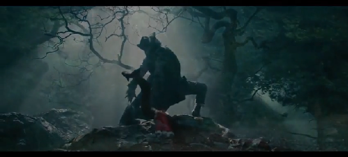 Into The Woods Johnny Depp as The Big Bad Wolf by ...