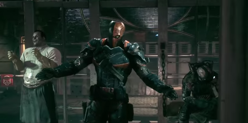 how tall is deathstroke arkham