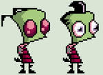Invader Zim V.3 (Show Accurate Coloring)