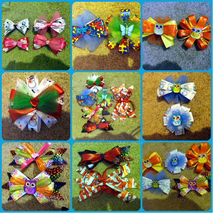 PLUR package bows by MalakxFuarie