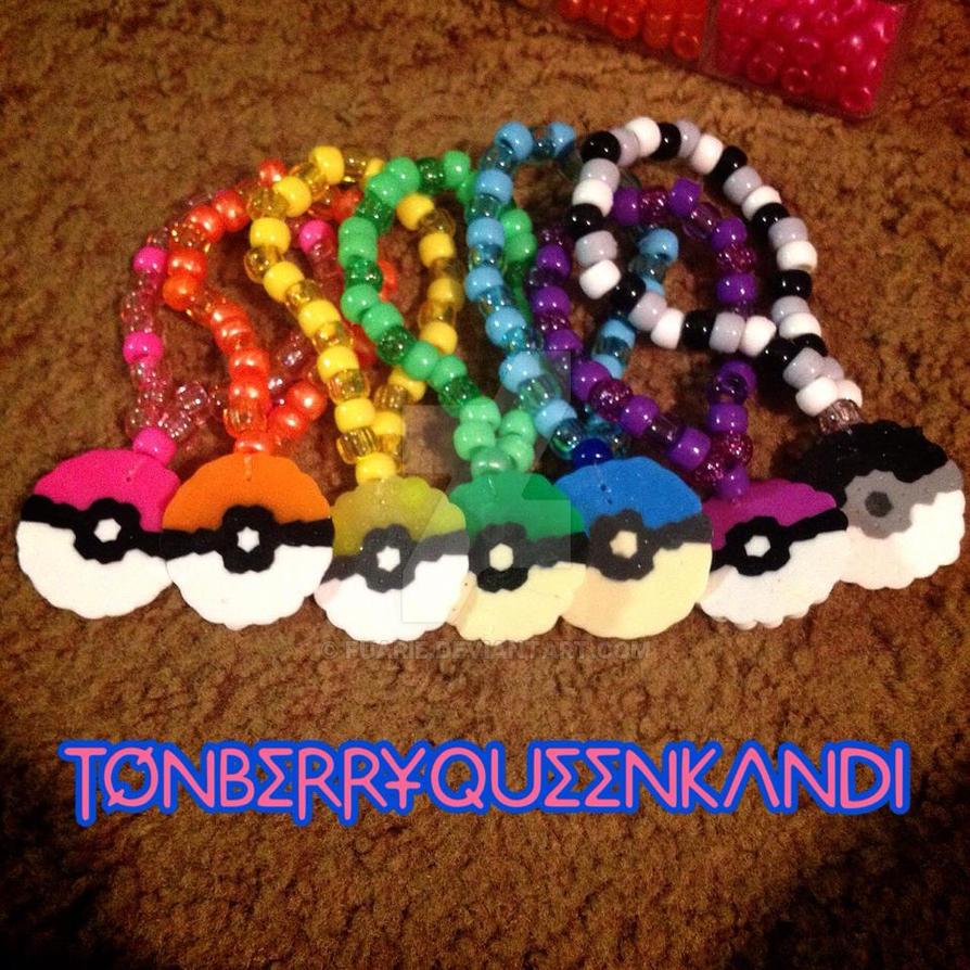 Rainbow of Pokeballs by MalakxFuarie