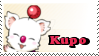 Kupo Moogle Stamp by Fuarie