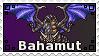 Summon Bahamut Stamp by MalakxFuarie