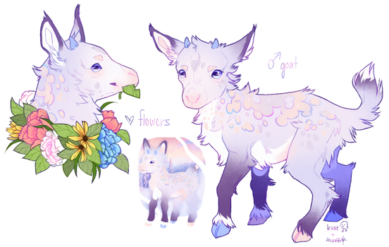 baby goat collab auction!!
