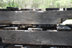 Wooden Crates Stock