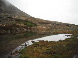 Crow's Pass Lake 4 by prints-of-stock