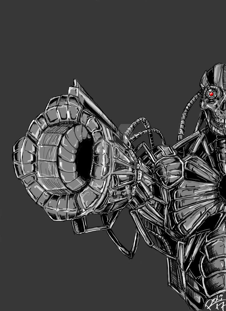 Cyborg T800 Kill all Humans :D by LoqTek