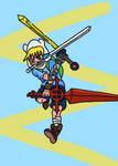 Finn 3 Sword Style by laguerrt
