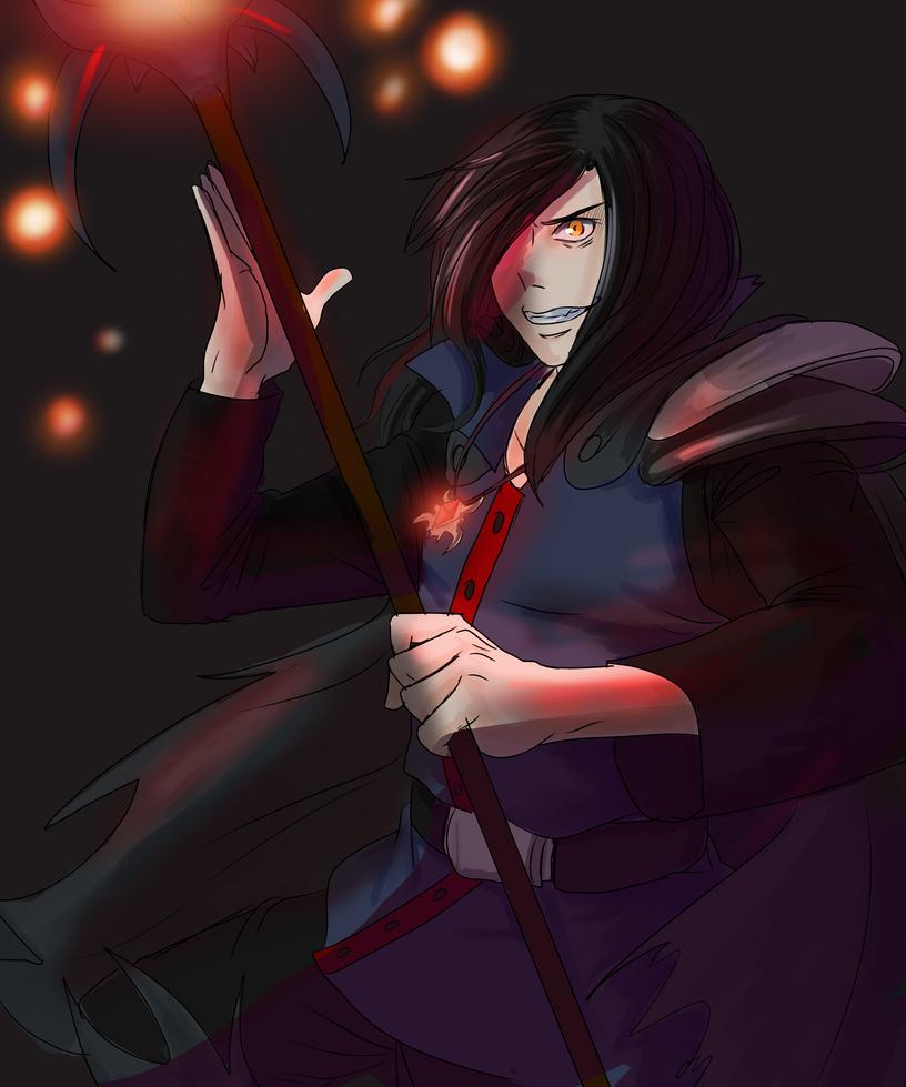 death hunter (requested) Phantasya-Naos  (OC) by lukesChillArt666