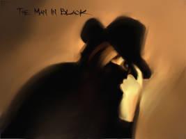 The man in black by Kazu-sama