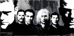 Rammstein acrylic paint on canvas